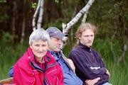 Gundula, Jürgen und Alex