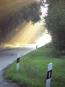 Straße ins Licht