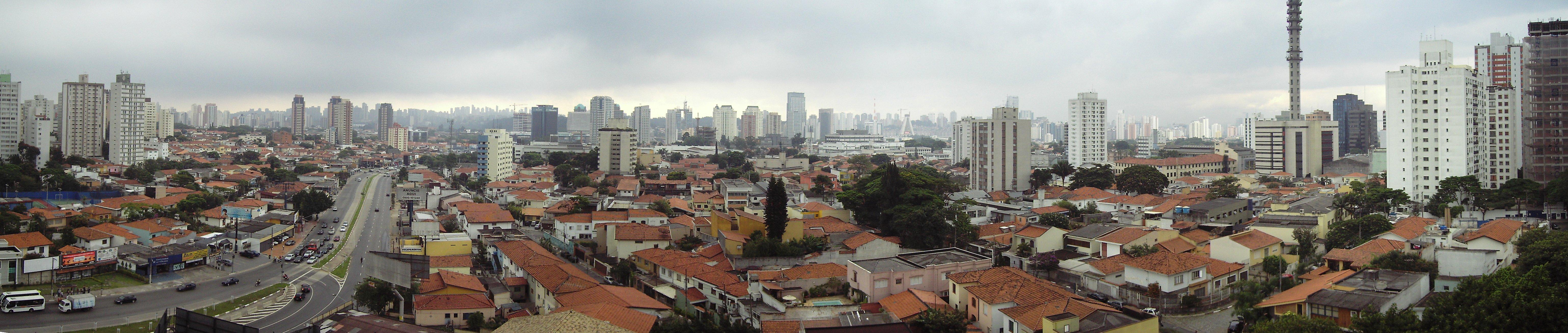 Panorama von São Paulo