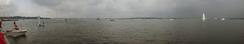Panorama von der Windjammerparade