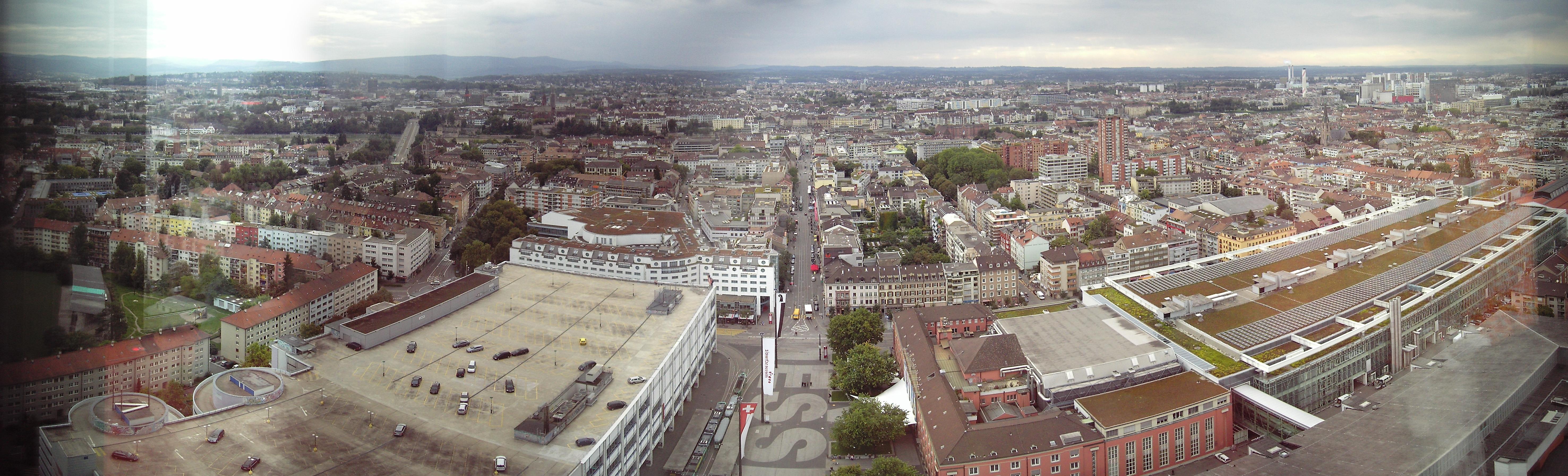 Panorama von Basel