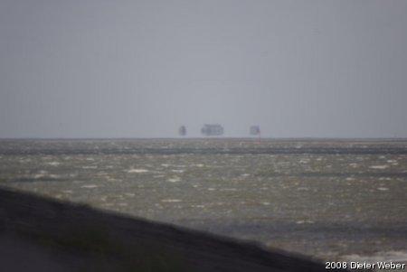 Die Stelzenhäuser am Strand von St. Peter-Ording